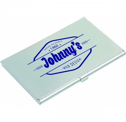 Promotional business card holders printed business card holders aluminium business card holder reheart Images