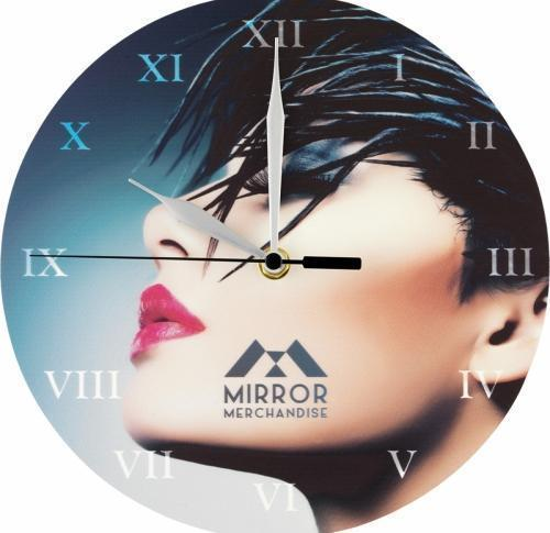 Printed Promotional Wall Clock - Full Colour
