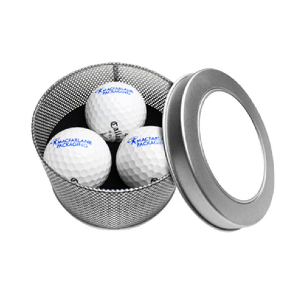 Golf Gift Tin 2 - Buy Promotional Products UK | Corporate Gifts | Promotional Items