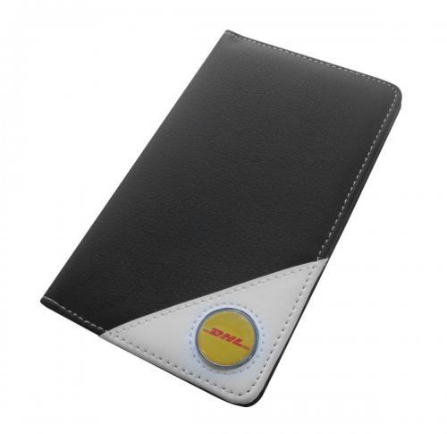 Faux Leather Golf Scorecard Holder