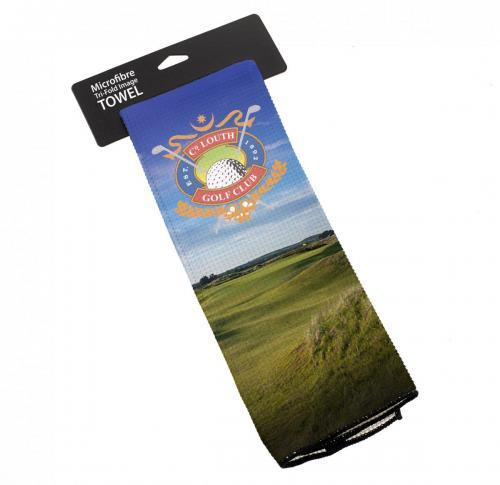 Microfibre TriFold Image Golf Towel
