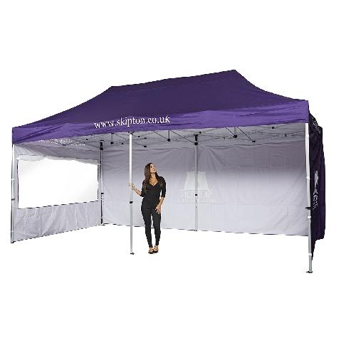 6 X 3m  Golf Marquee (Roof, Valance & 3 Walls)