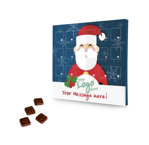 Printed Logo Desktop Advent Calendar