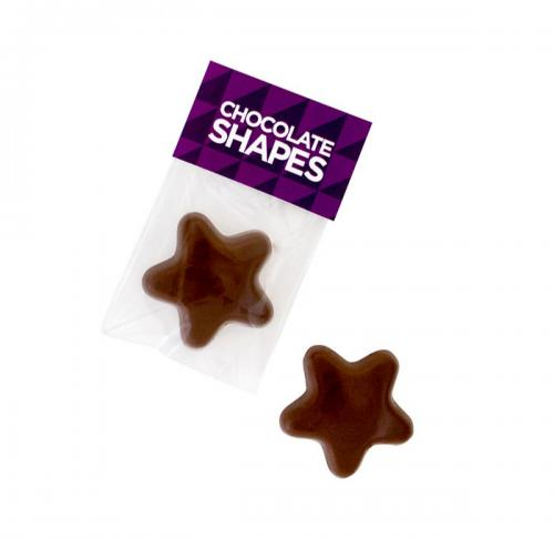 Branded Label Chocolate Star