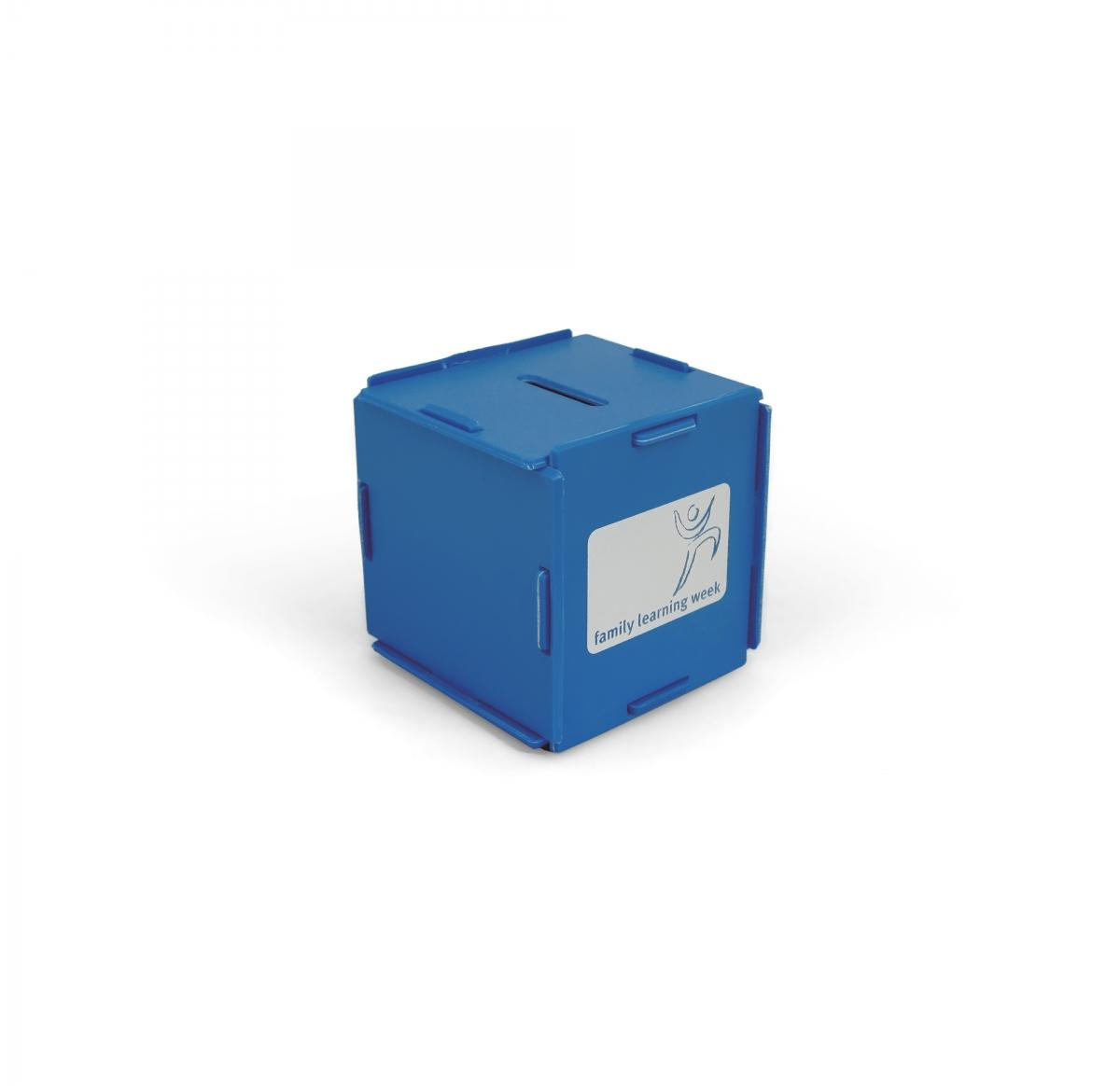 Green & Good Money Box Cube - recycled - Buy Promotional