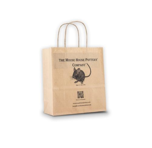 Green & Good Mini Kraft Paper Bag Digital Print - Sustainable Paper