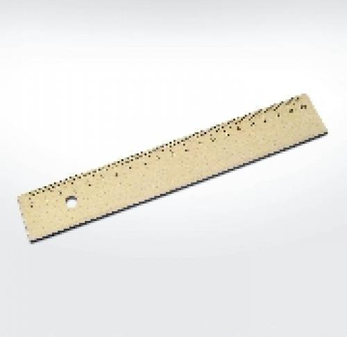 Green & Good Wooden Eco Ruler 20cm - Sustainable Timber
