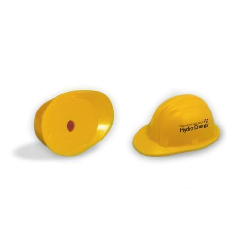 Green & Good Safety Hard Hat Pencils Sharpeners - recycled