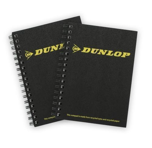 Green & Good A6 Tyre Notebook - recycled