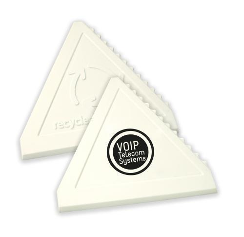 Green & Good Triangular Value Ice Scraper - recycled