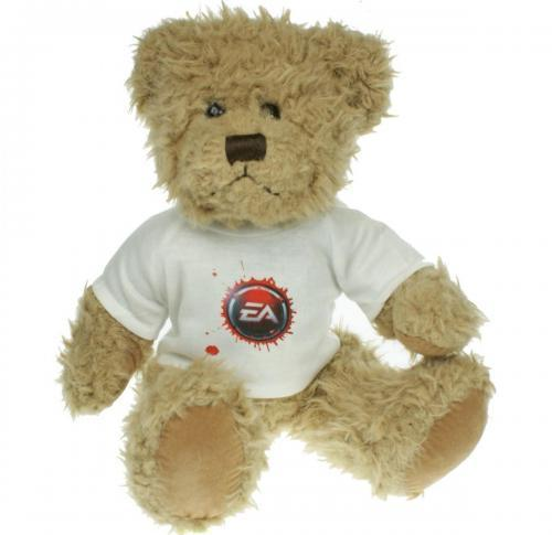 30cm teddy bear with logo t-shirt - Windsor