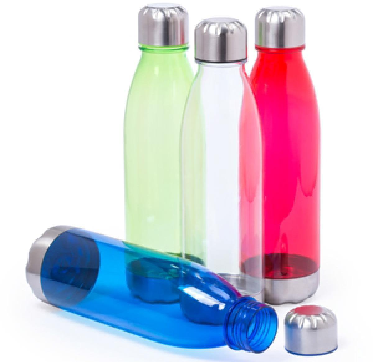 Plastic & Stainless Steel 750ml Sports Water Bottle Screw Top