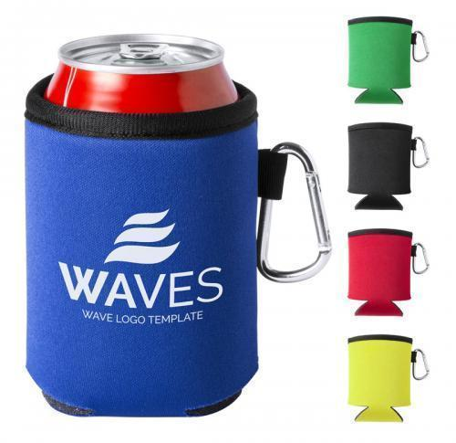 Can Koozie With Carabineer Clip
