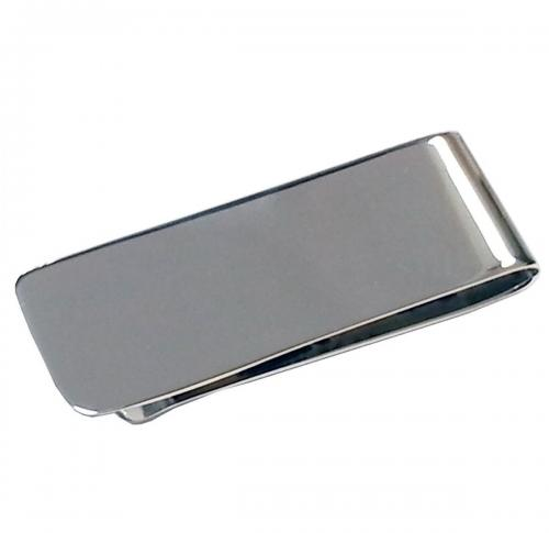 Sterling Silver Metal Money Clip In Sterling Silver.