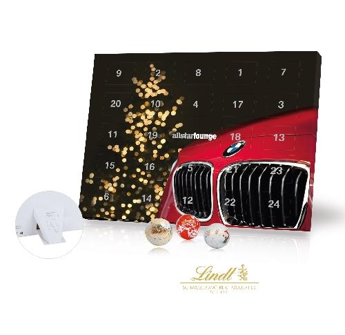 Custom Printed Lindt A5 Desktop Advent Calendar