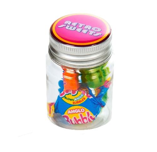 Small Jar Of Retro Sweets