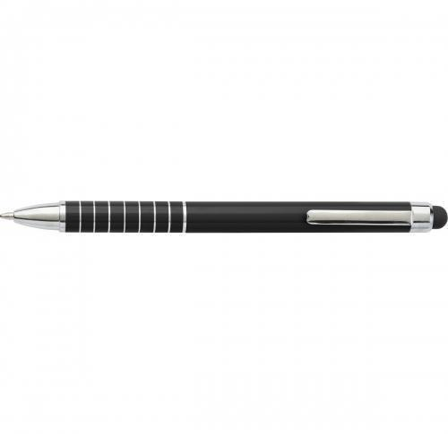 Aluminium lacquered twist action ballpen