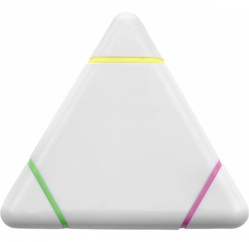 Plastic triangular text marker