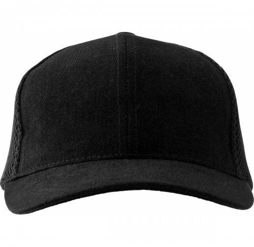 Baseball Cap Heavy Brushed Cotton With Six Panels