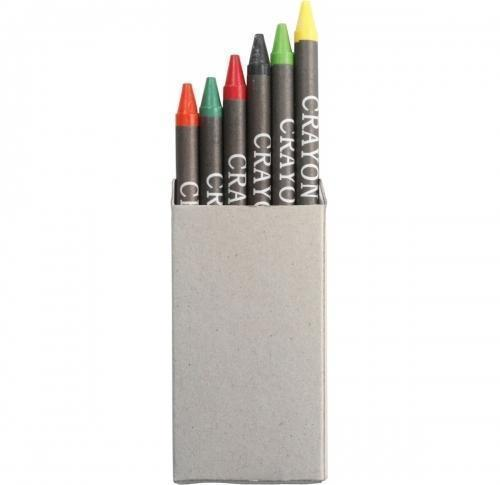 Crayon set in card box- 6pc
