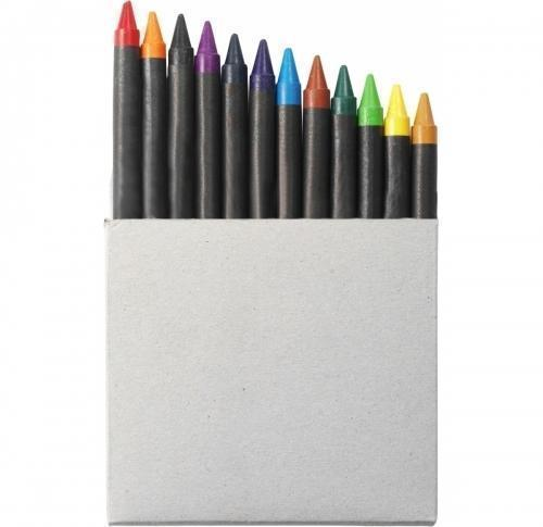 Crayon set in card box- 12pc
