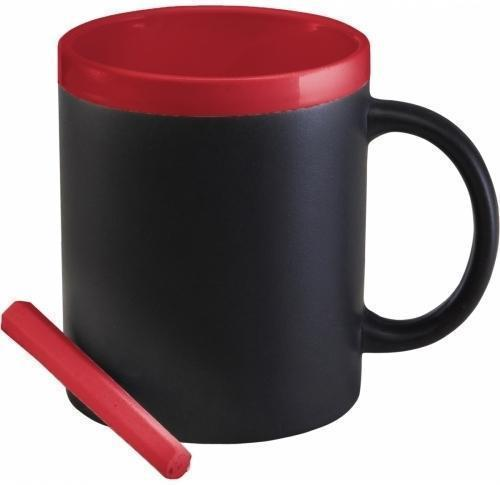 Branded Blackboard Ceramic Mug with Chalk