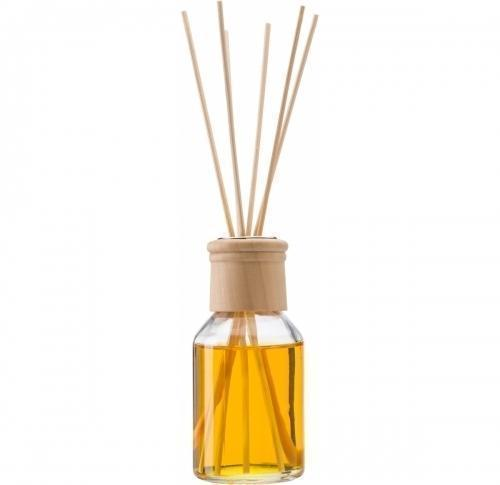 Reed diffuser with one 100ml glass bottle of vanilla fragrance