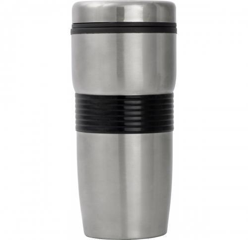 500ml Stainless Steel Thermal Mug & Silicone Band