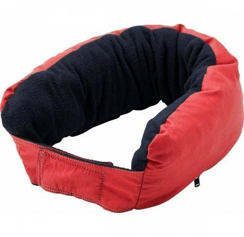 Multifunctional zipped neck pillow