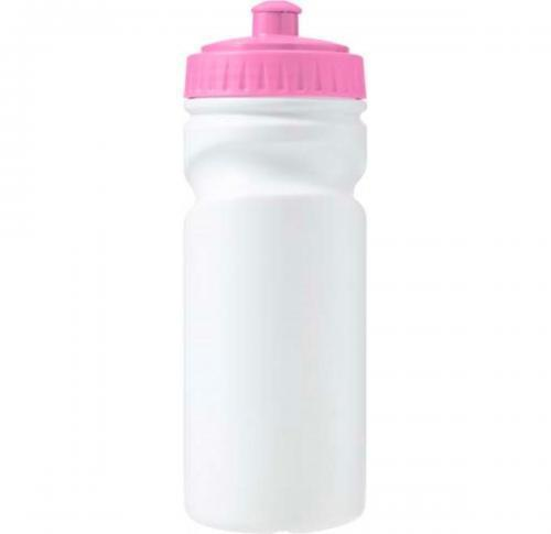 Drinking bottle (500ml) made from 100% recyclable plastic.