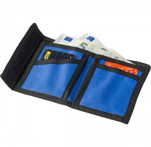 Wallet made from 190T/600D polyester.
