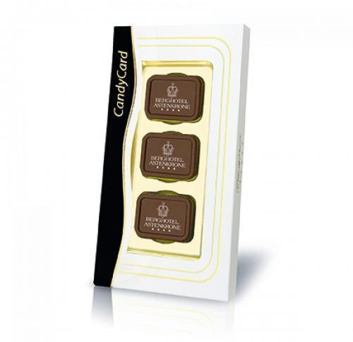 6 Personalised Belgian Chocolates Standard Gift Box