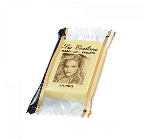 1 Personalised Belgian Chocolate 10g Clear Flowrap