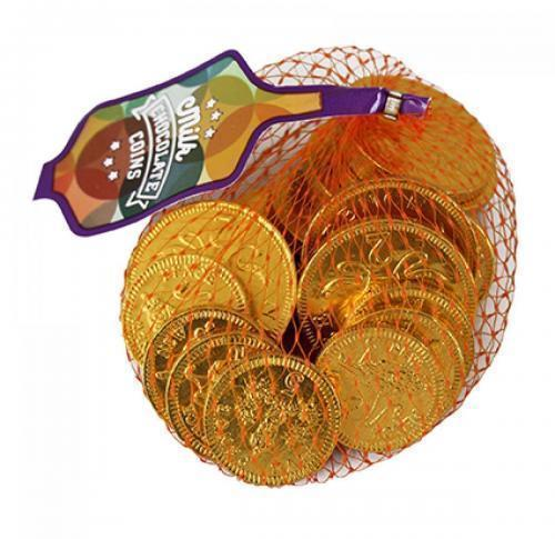 Logo Chocolate Coins in net 38mm