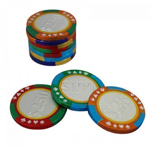 Private Label Chocolate casino chip 38mm