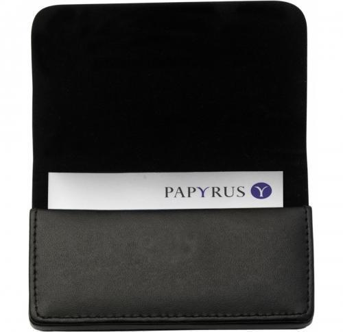 Bonded leather card holder