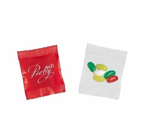 Bag with 75g of fruit gums or jelly beans