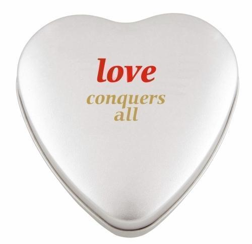 Large heart tin with approx64gr of hearts
