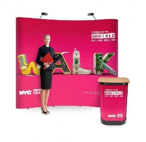 Pop Up Display Stand And Podium
