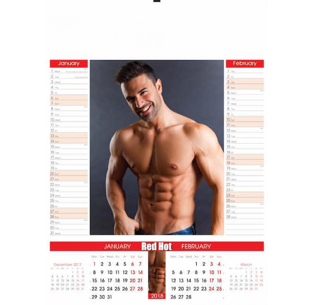 Hot Official Calendar 2018 naked (13 photo), Topless, Paparazzi, Boobs, underwear 2015