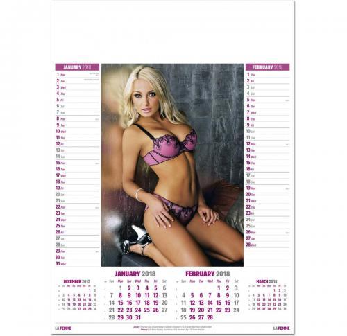 Bikini Promo Calendar Printing