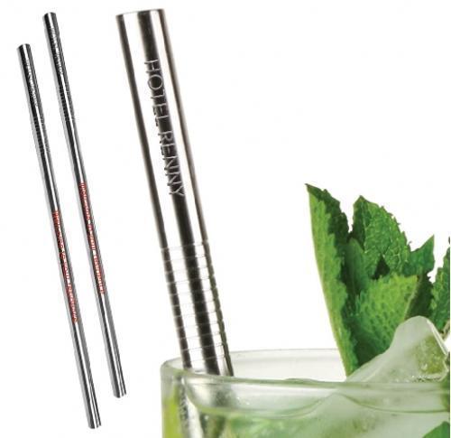 Buy Promotional Drinking Straws UK | Bulk Metal Stainless