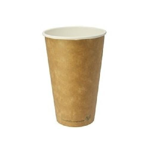 Vegware 16oz Double Wall Compostable Eco Paper Cup