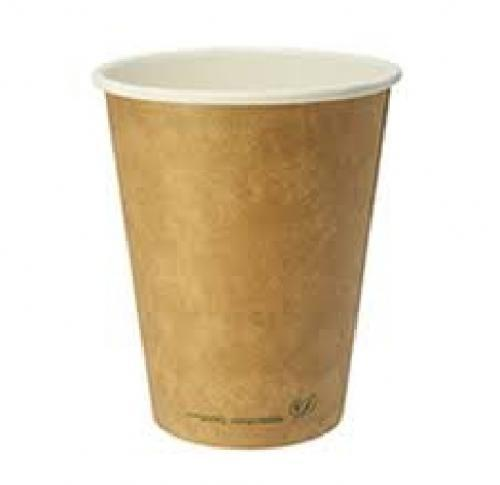 Compostable Eco 12oz Double Wall Paper Cup