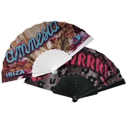 Folding Hand Fans With Full Colour Print