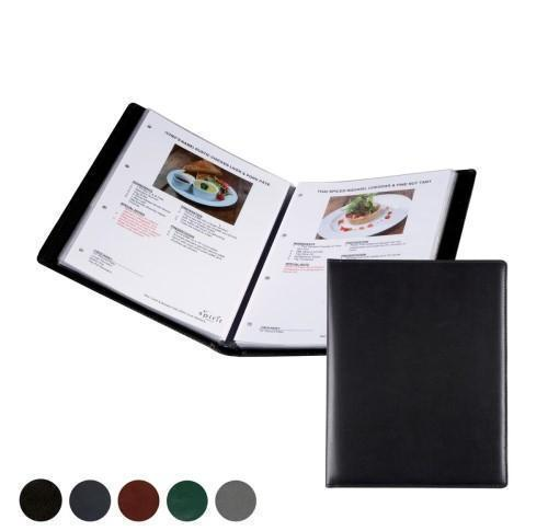 Hampton Leather A4 Information- Wine List or Menu Holder