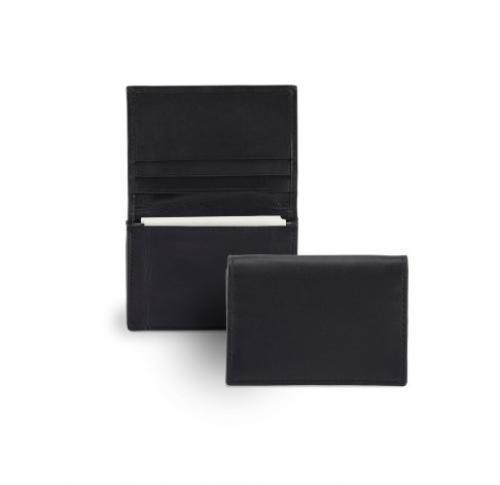 Sandringham Nappa Leather Business Card Dispenser