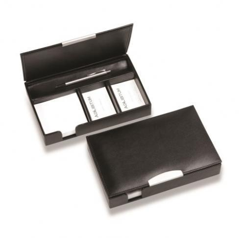 Sandringham Nappa Leather Desk Organiser