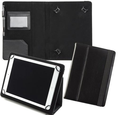 Sandringham Nappa Leather Adjustable Tablet Case with Stand