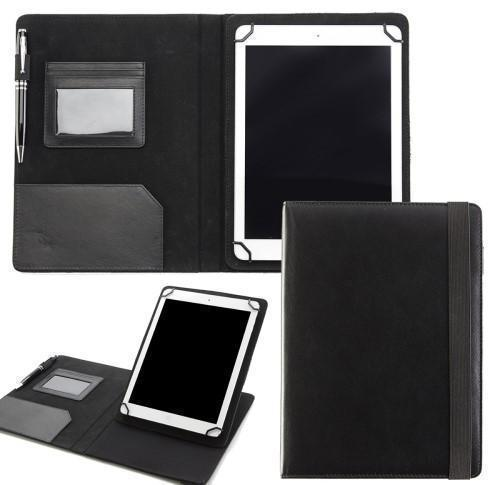 Sandringham Nappa Leather Adjustable Tablet Case with Multi Position Stand